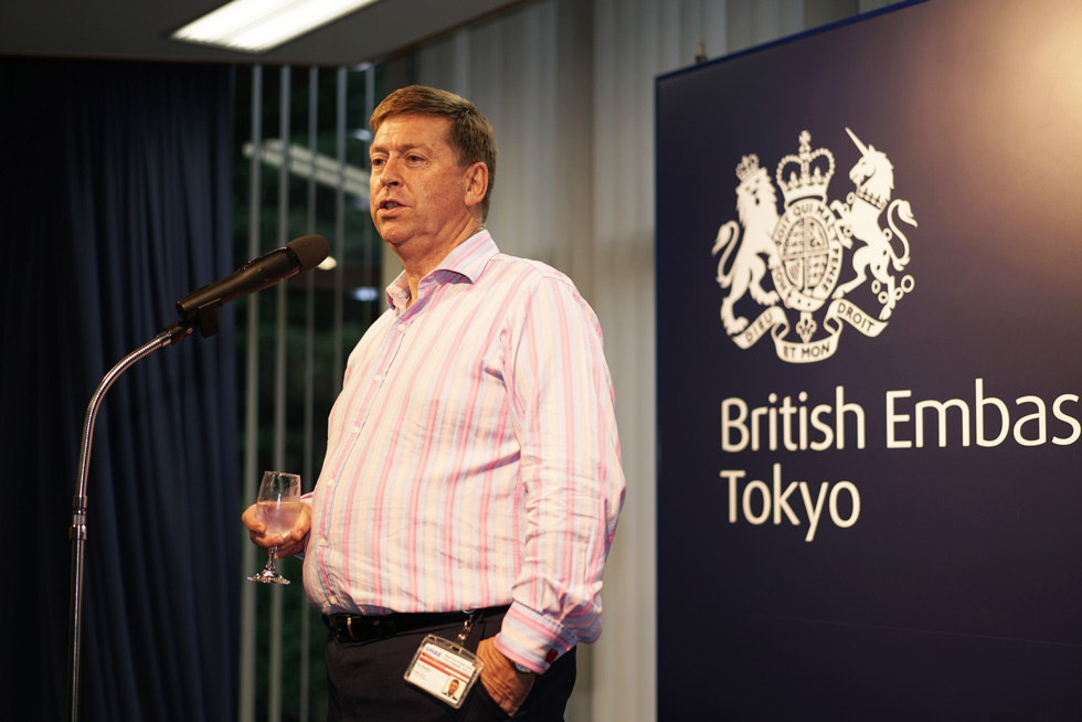Mr. Paul Madden, British Ambassador to Japan