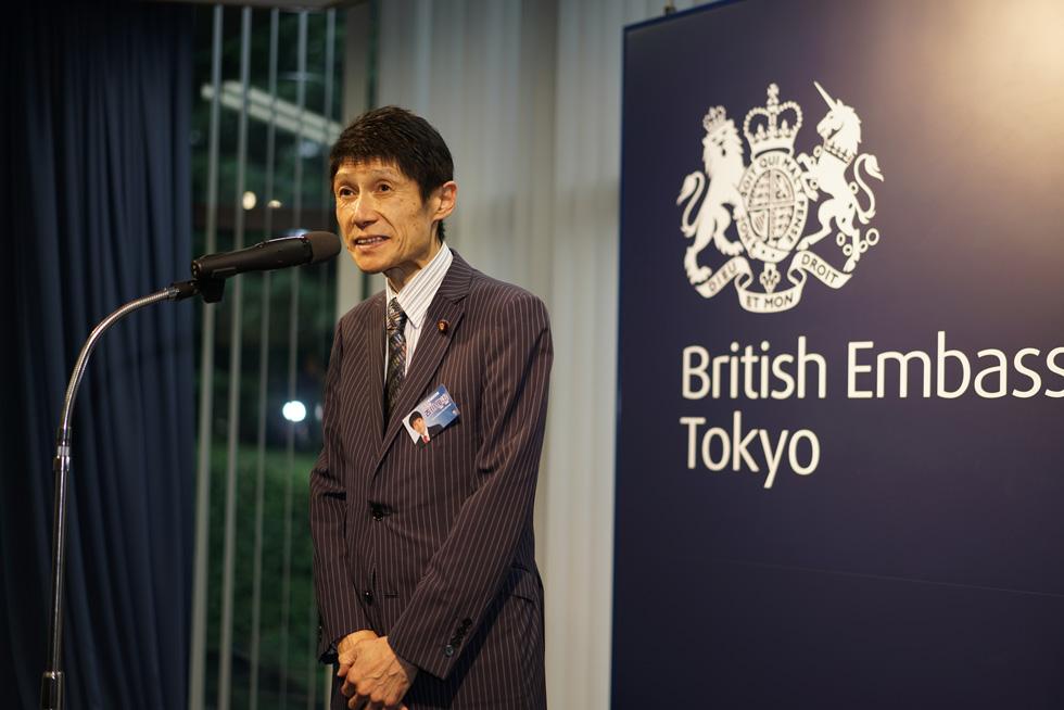 Mr. Toshiharu Furukawa, House of Councilors and adviser to JSA