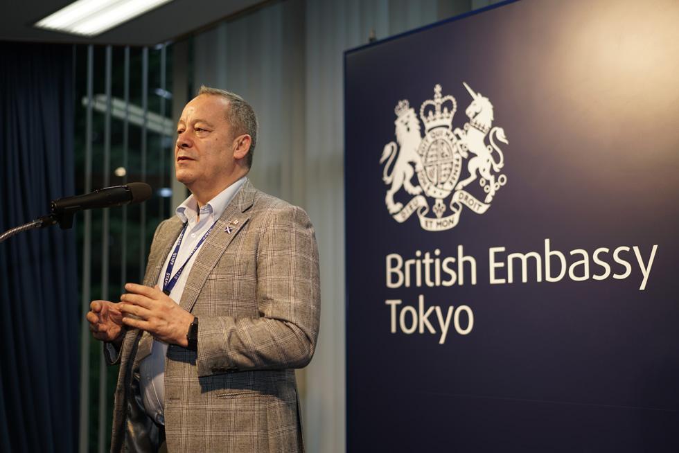 Dr. Stephen Baker, Honorary Ambassador of the Scottish Development International